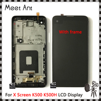High Quality 4.9'' For LG X Screen K500 K500H K500F K500N LCD Display Screen With Touch Screen Digitizer Assembly