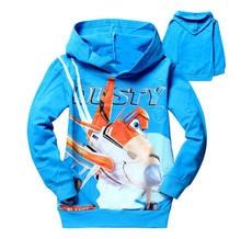 2-8Y Boys Sweatshirt Letter Pattern Long Sleeve Cotton Casual Kids Hoodies Spring Autumn Children Sweater Baby Girls Sweatshirt