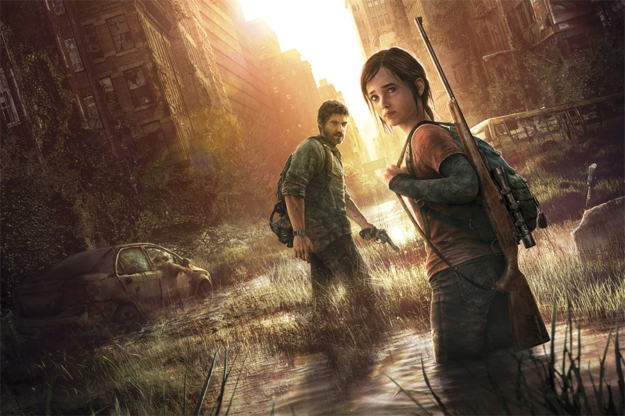Christmas Zombie Wallpaper.Us 5 24 23 Off Custom Canvas Art The Last Of Us Poster Last Of Us Game Wallpaper Zombie Wall Stickers Mural Christmas Bedroom Decoration 2611 In