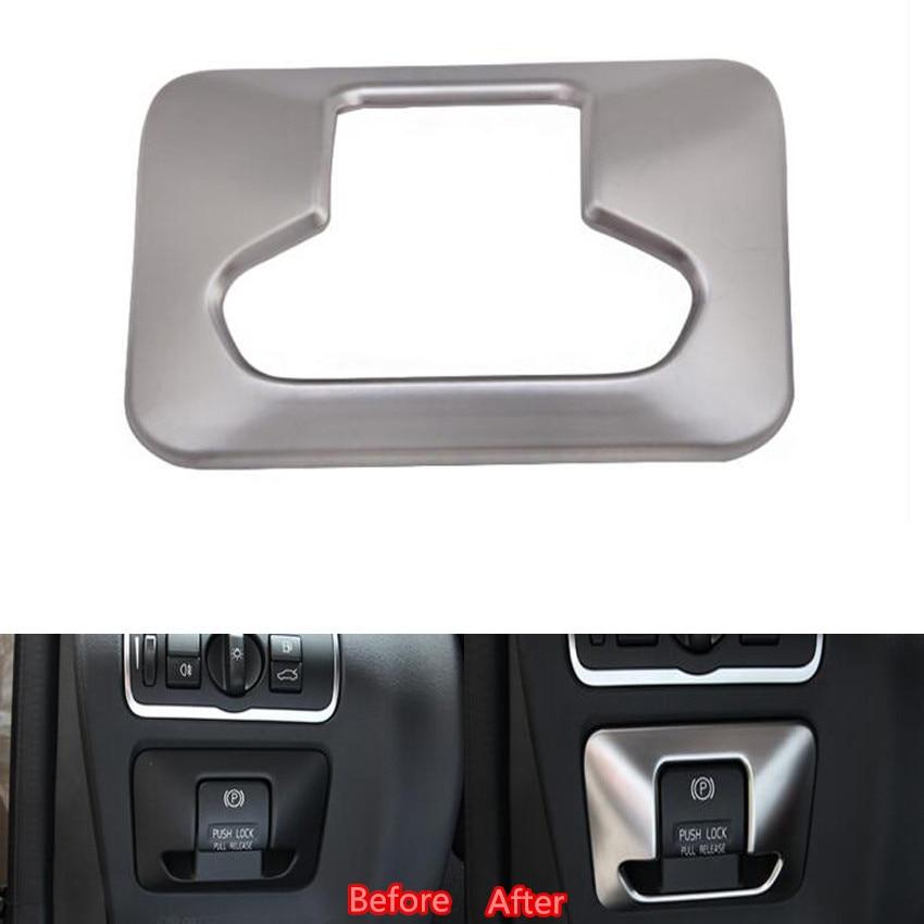 Estilismo de coches interior del interruptor de botón del freno de mano del fren
