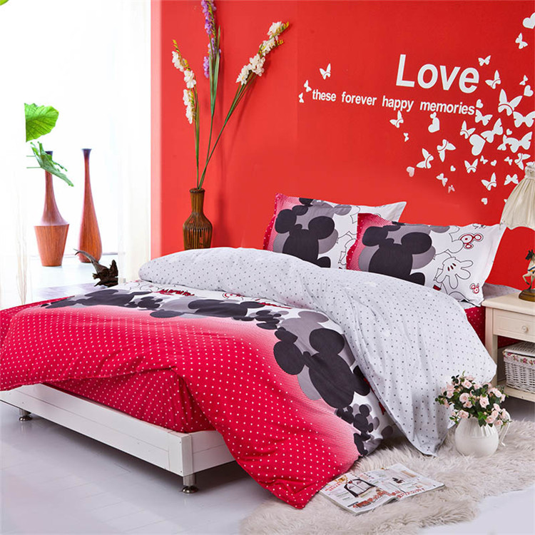 Minnie Mouse Bedding Set King Size