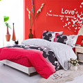 Free shipping, full queen king size mickey mouse bedding Mattress Cover style bedding set bedclothes bed linen duvet cover