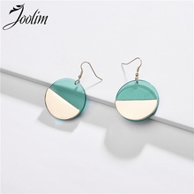 Joolim Jewelry Wholesale Simple Lucite Resin Drop Earring Design