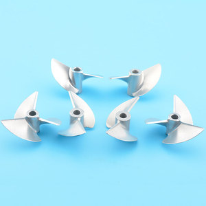 Image 2 - High Quality D36mm Rc 4mm Propeller CNC Machined 2/3 blades Prop Alloy Propeller/Screw For 4mm Shaft Rc Boat