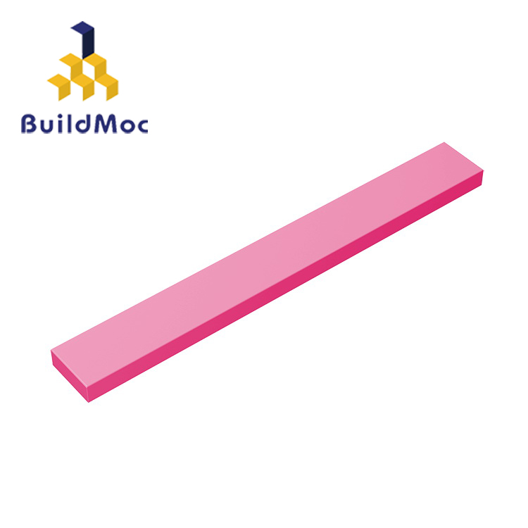 BuildMOC Compatible Assembles Particles 4162 1x8For Building Blocks Parts DIY LOGO Educational Tech Parts Toys