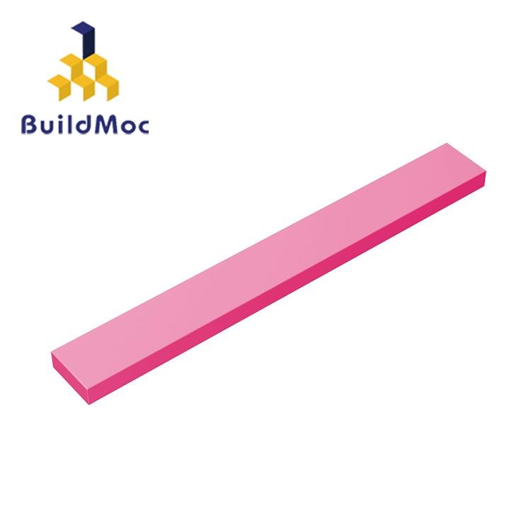 BuildMOC Compatible Assembles Particles 4162 1x8For Building Blocks Parts DIY LOGO Educational Tech Parts Toys