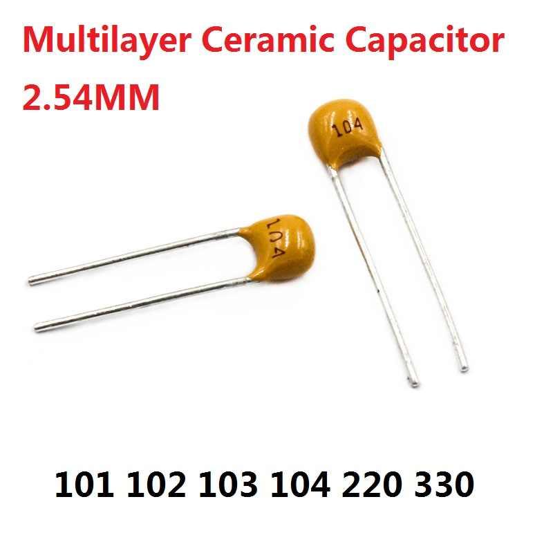 Condensateur céramique 68pF 500V lot de 1 à 20 pièces