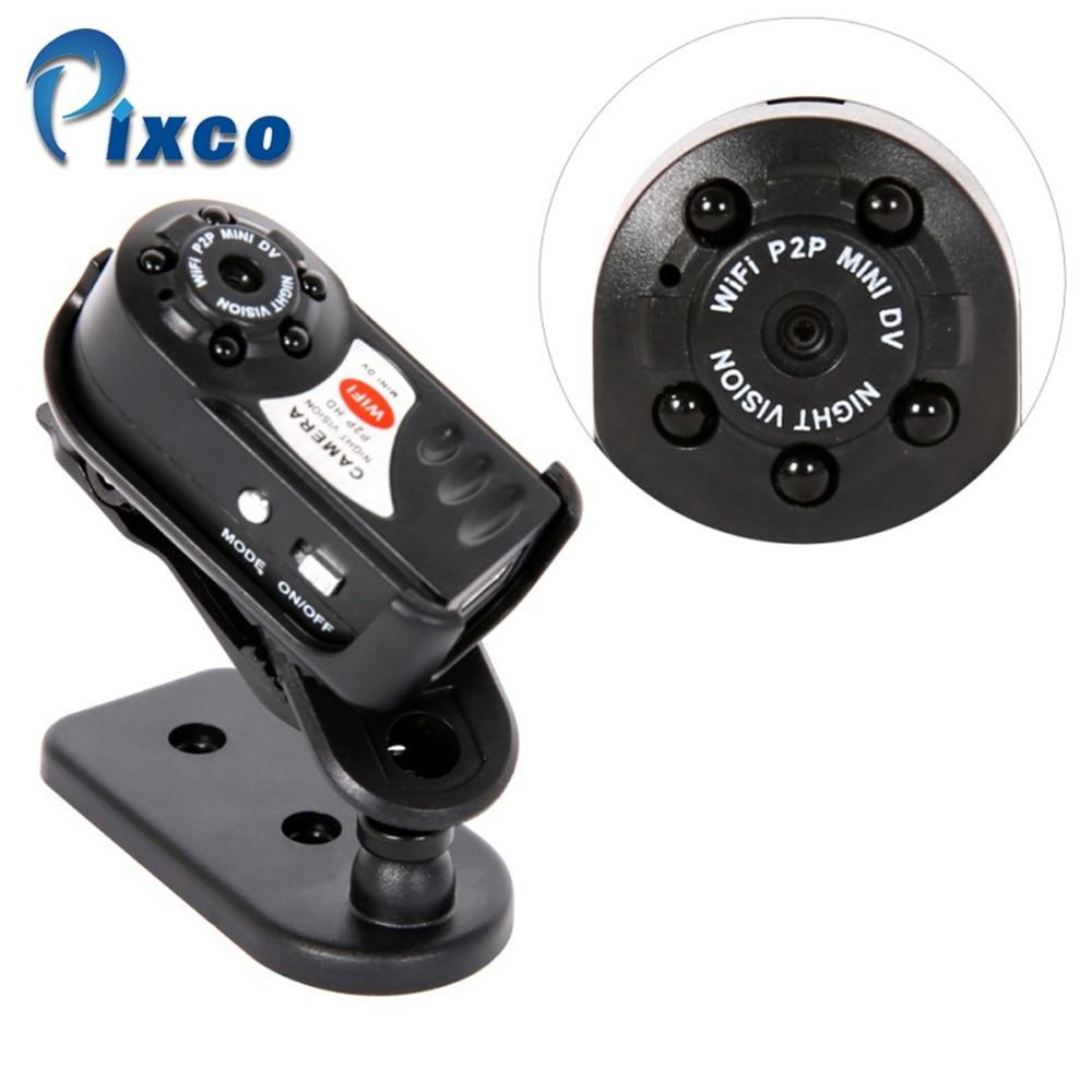 Mini Camera 480P Wifi DV DVR Wireless IP Cam Video Camcorder Recorder Q7 Infrared Night Vision Small Camera