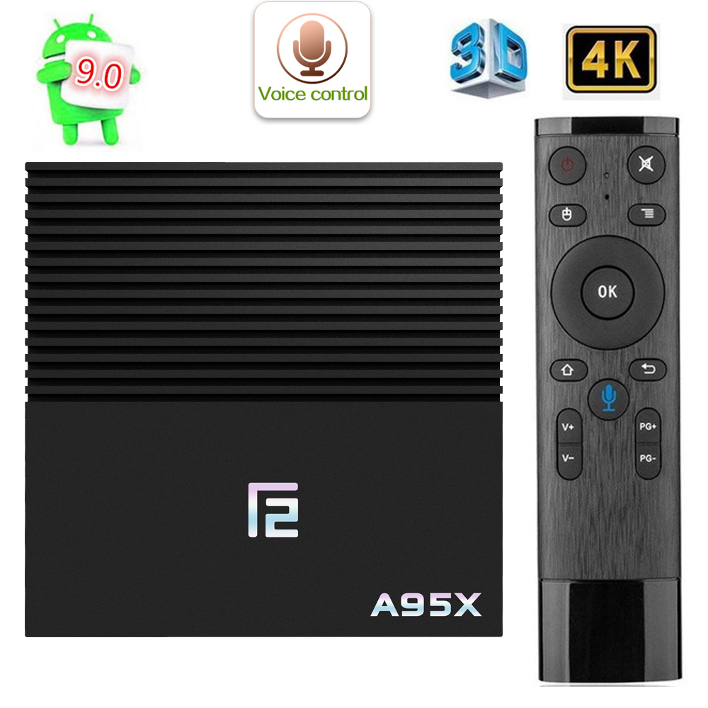 Tv box iptv subscription A95XF2 4k 4G 32G 64GB Smart BOX Voce Control Android 9.1 tv box 4K 3D 2.4G / 5G WiFi X96 tv android boX-in Set-top Boxes from Consumer Electronics    1