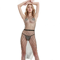 Women Crystal Long Beach Bikini Body Chains Sex Toys For Woman Bdsm toys