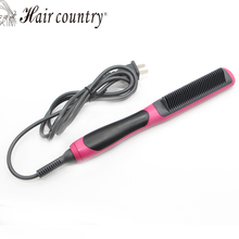 Brosse Lisseur Cheveux Professional Hair Flat Iron Curler Straightener Irons 110v-240v Tourmaline Ceramic Coating Styling Tools