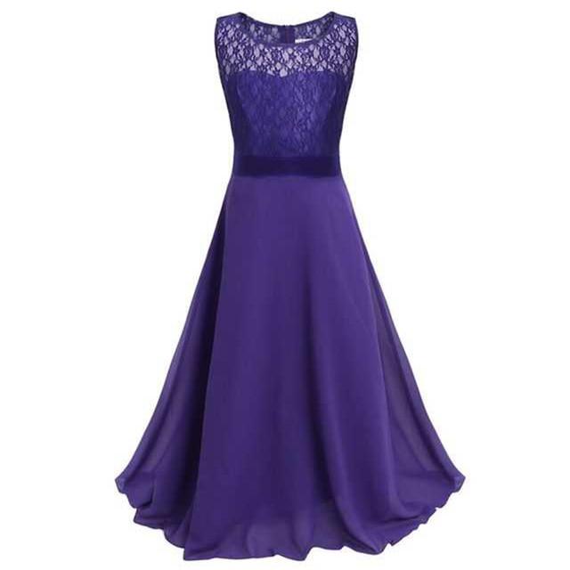 kleider in lila