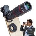 APEXEL 10 шт./лот оптовая продажа объектив для мобильного телефона 18X телескоп зум объектив для смартфона для iPhone X 7 8 Plus Samsung S8 s9 plus