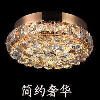 Die neue kristalline licht high-grade led korridor licht europäischen-stil dome licht rund veranda korridor licht atmosphäre