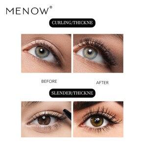 Image 2 - Menow Brand Makeup Curling Thick Mascara Volume Express False Eyelashes Make up Waterproof Cosmetics Eyes M13005