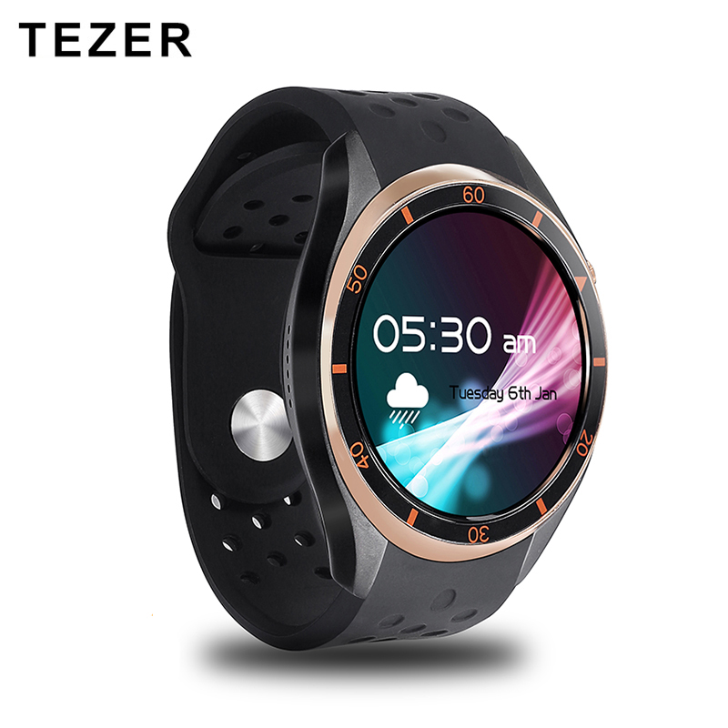 TEZER A5 Dial Call Quad core 512MB+8GB RAM Heart Rate Monitor smart Watch for Android 5.1 3G/WiFi/GPS SIM Card Anti lost Google купить common interface на самсунг