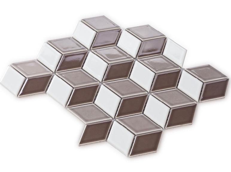 FREE SHIPPING!Porcelain mosaic tiles,Diamond 3D design ceramic tiles,Bathroon toilet wall floor/Kitchen backsplash tiles,EO48111 free shipping magnetize for screwdriver plus porcelain degaussing degaussing minus porcelain disassemble charge sheet page 3