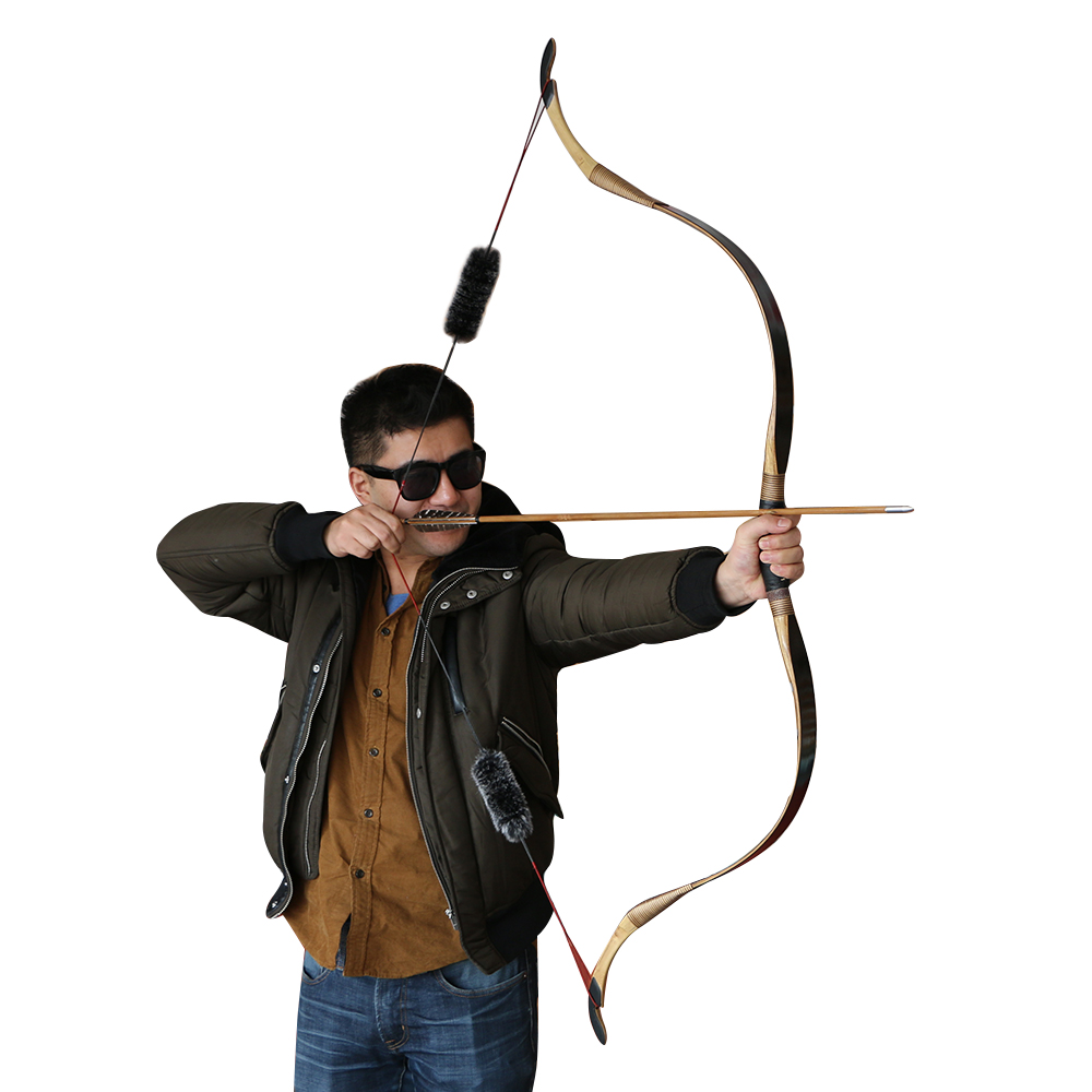 1pc new China 25-40 lbs archery training traditional recurve bow with accessories for sale 2017 new arrival china traditional red