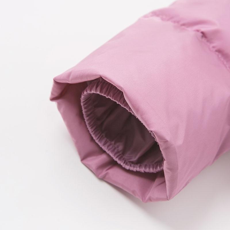 DB8827 dave bella winter baby down coat girls hooded outerwear children 90% white duck down padded  jacket