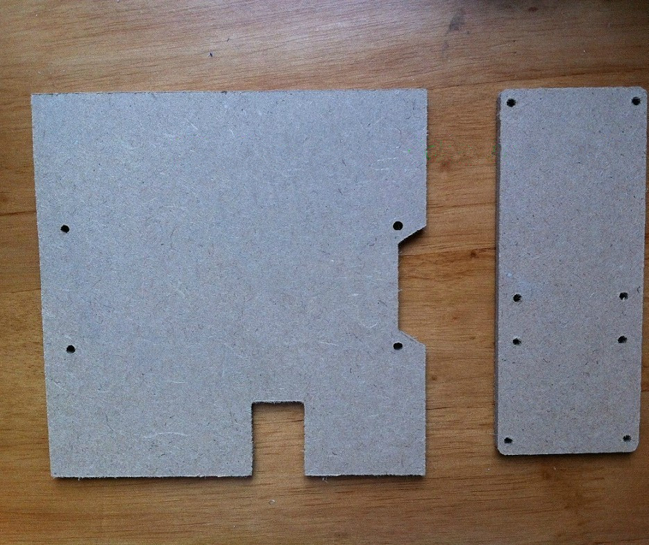Medium Density Board ~ Swmaker medium density fiberboard kit for open source