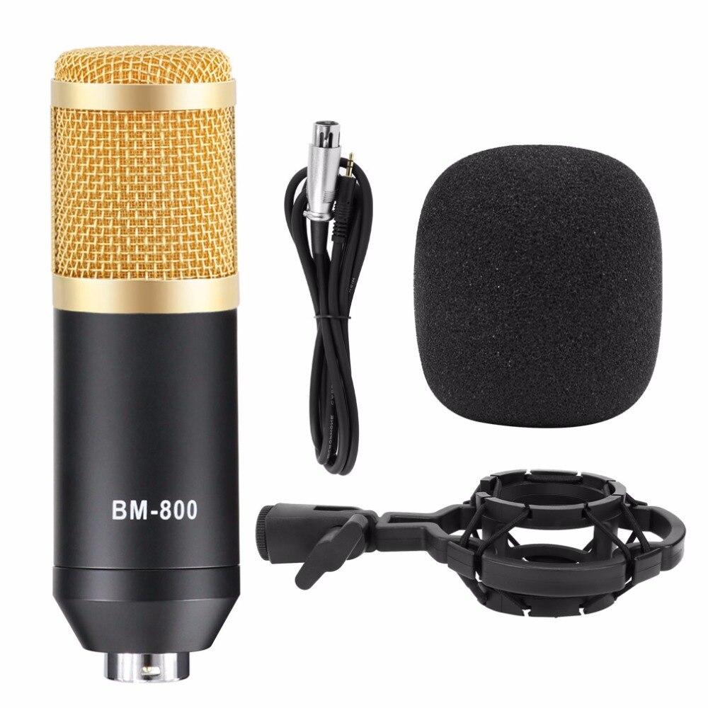 Professionnel bm 800 micro studio bm-800 microphone à condensateur Kits Faisceau micro pour karaoké bm 800 pour Ordinateur Mikrofon - 4