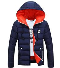 The 2016 Winter Coat Thick Warm Cotton Casual Jacket Feather Coat Hoodie Jacket + L – 4 Xl Size