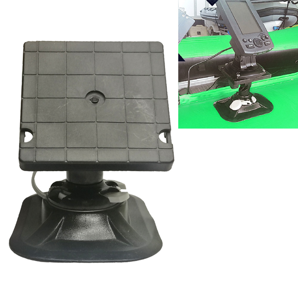 Universal Swivel Kayak Marine Boat Yatch GPS Electronics Fish Finder Mount Bracket Inflatable Boat Fish Finder Bracket