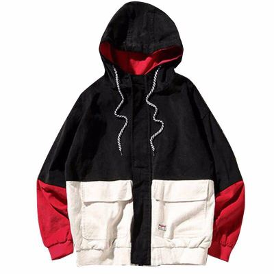 HTB1M5d2LQzoK1RjSZFlq6yi4VXaJ Bella Philosophy Long Sleeve Corduroy Women jacket Spring women Jacket plus size women Zipper female coat color block Patchwork