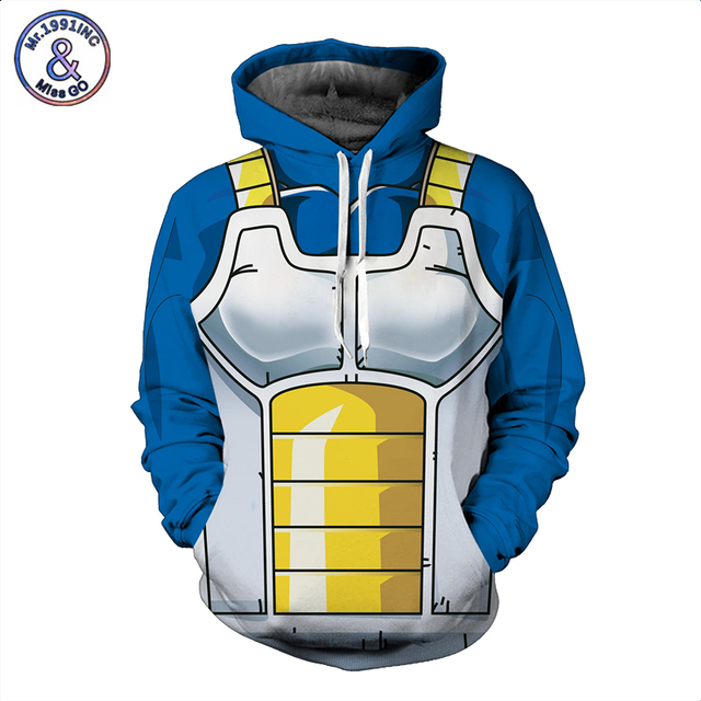 Dragon Ball Z 3D Hoodie Print Sweatshirt