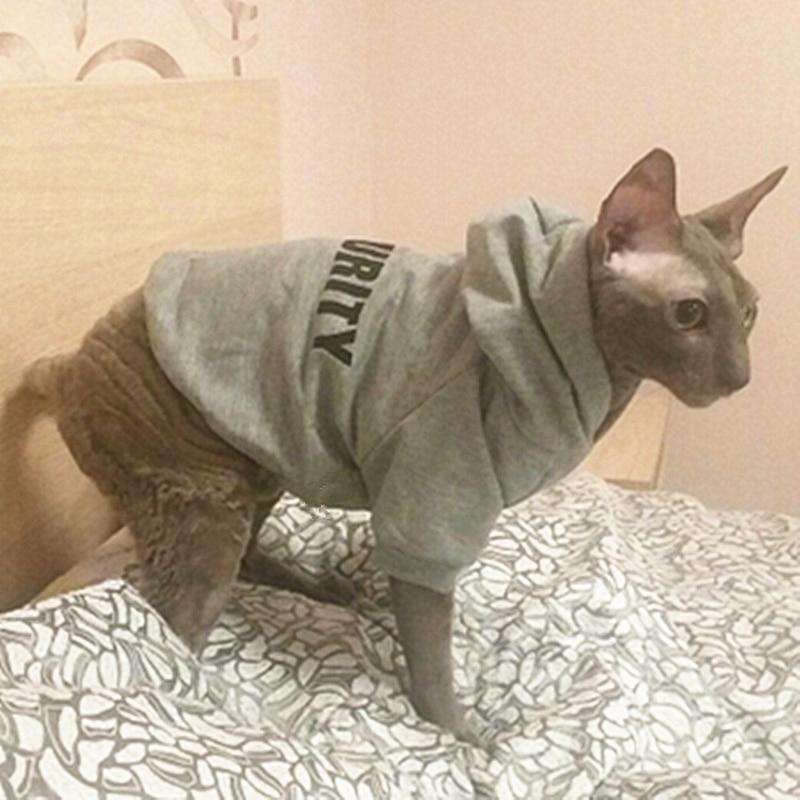 Grey Pet Hoodie