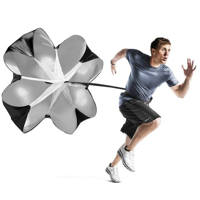 Бегущий скоростной парашют сопротивления 56 дюймов бегущий зонтик тренировочный Спринт силовой футбольный тренажер для бегуна, футбола, соц
