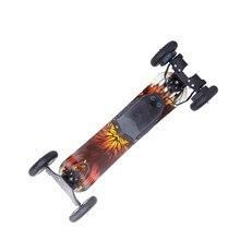 Высокое качество надувные шины Максимальная скорость 40 км bluetooth бездорожье Электрический скейтборд с удаленного