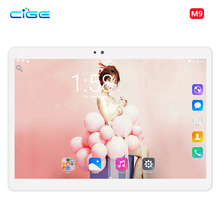 Free Shipping 10.1 inch Tablet PC Ocat Core 4GB RAM 64 ROM Android 7.0 GPS 5.0MP 2.5D Glass Screen Tablet PC 10 9 8 Tablet
