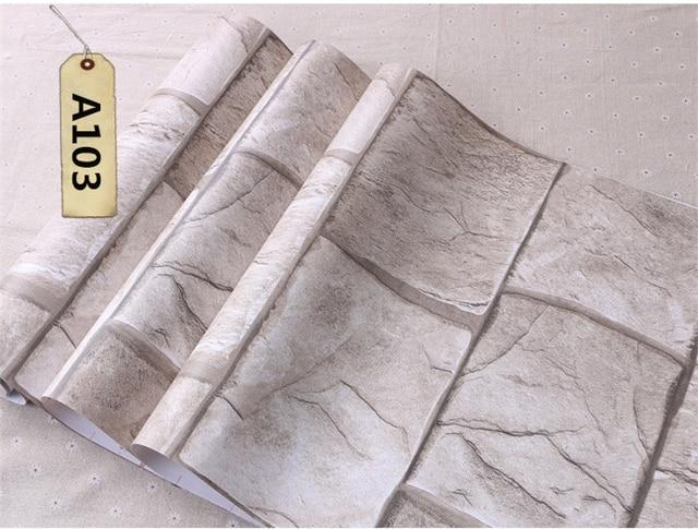 color pav papier peint effet roche naturel 3d pierre papier peint sticker mural tanche auto. Black Bedroom Furniture Sets. Home Design Ideas