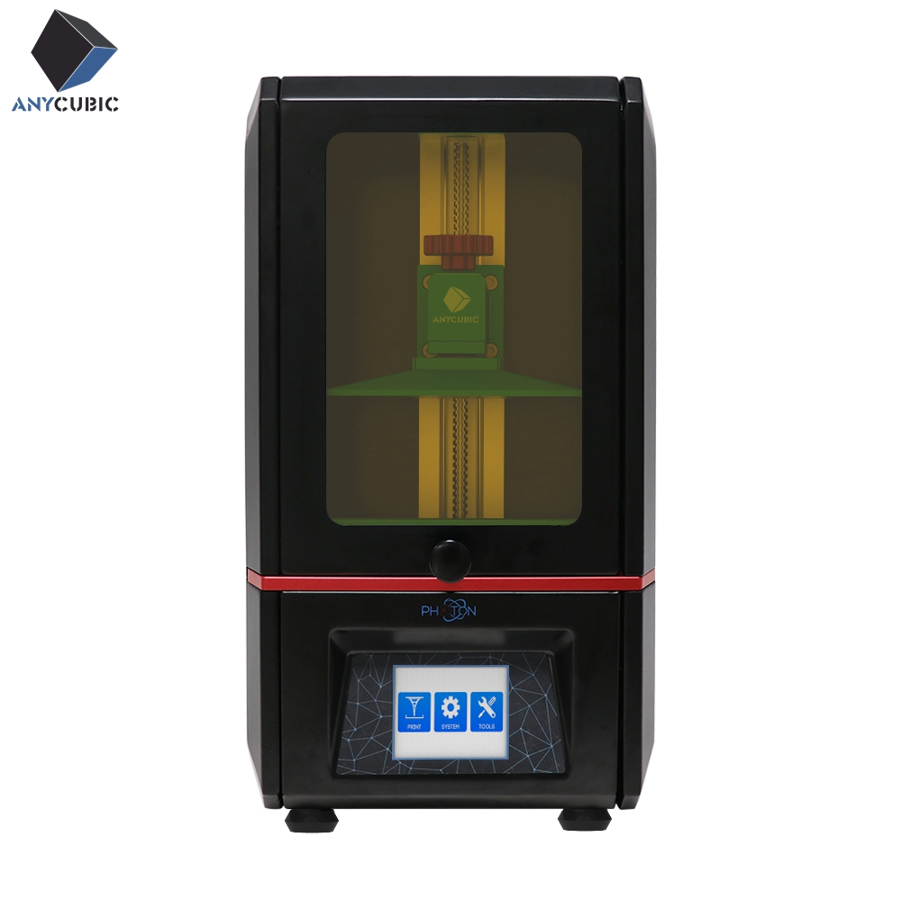 Fóton ANYCUBIC SLA Impressora 3D Plus Size UV Tela de LCD Montado 2 K Off-Line de Impressão Impresora 3d Drucker impressora UV Resina