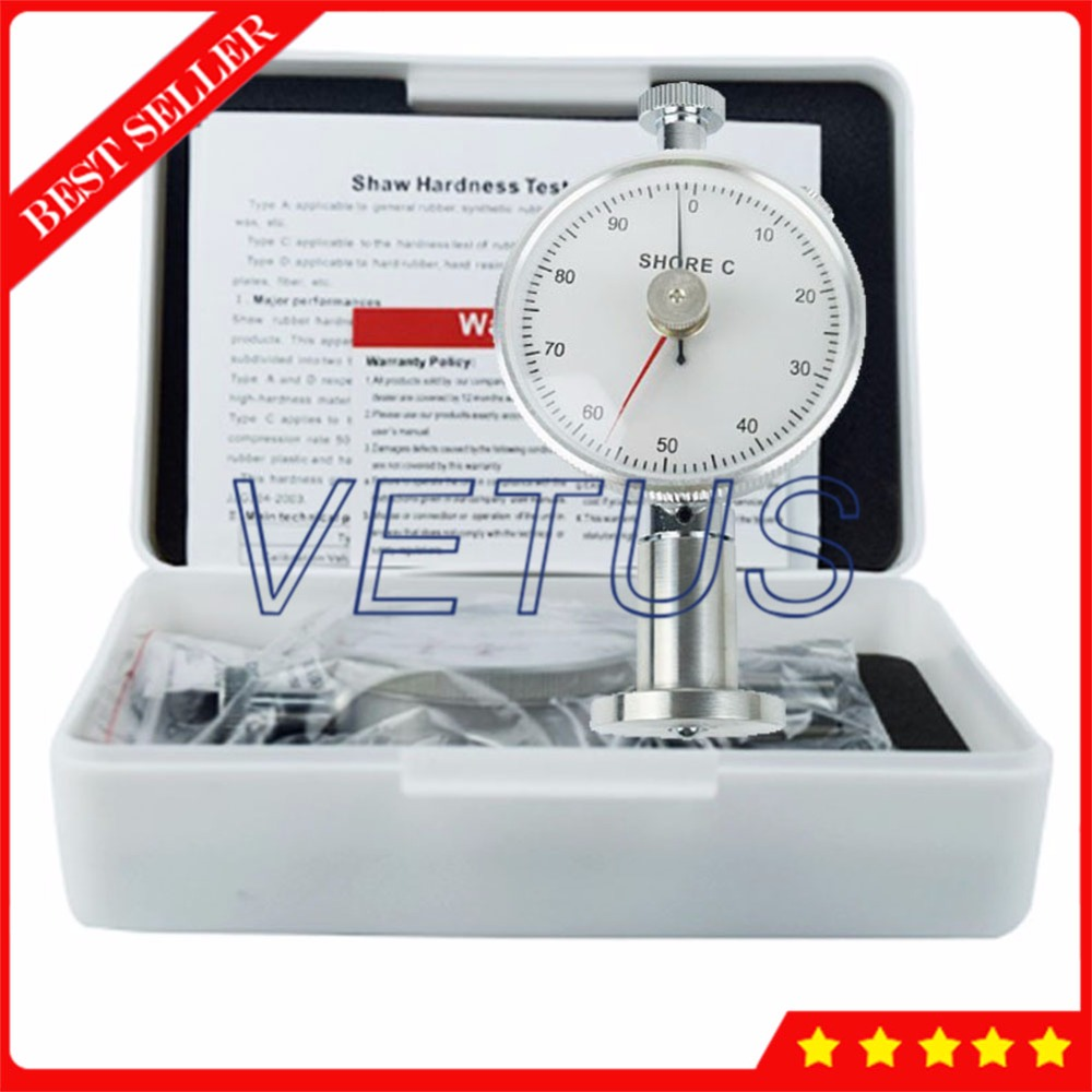 High accuracy Durometer Dual needle Shore Hardness Tester Meter Gauge LX-C-2 new lx a shore durometer type a rubber hardness gauge tester meter page 9