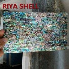 Free Shipping RIYA A grade natural surface abalone paua shell laminate for musical instrument and furniture inlay 10pcs/lot