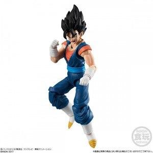 Image 5 - PrettyAngel 12 orijinal Bandai SHODO Vol.6 Son Goku Ultra Instinct ve Gohan ve Vegetto (9cm boyunda) aksiyon figürü