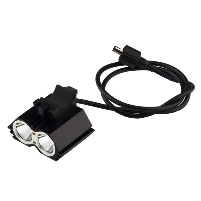 Waterproof 2 XML U2 LED Cycling Bicycle Bike Light Lamp HeadLight Headlamp Battery Pack Charger 18650 US Plug