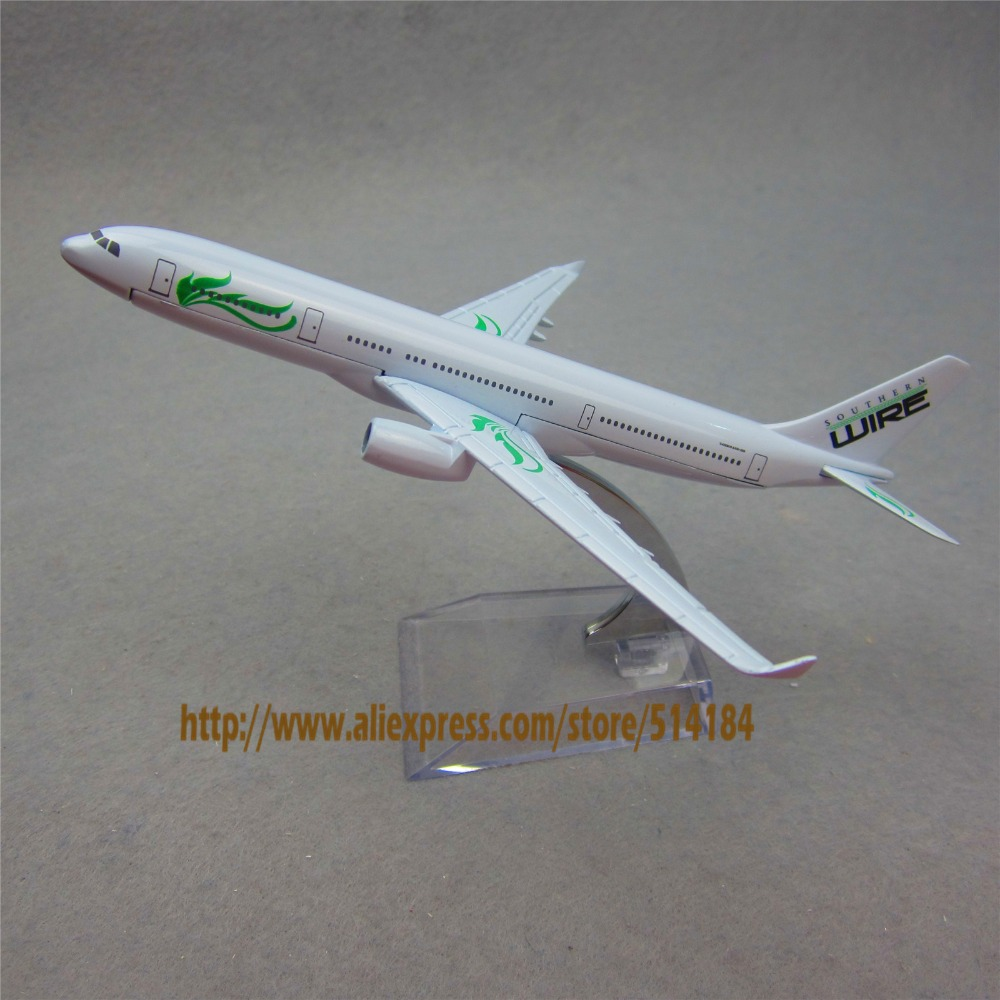 16cm Alloy Metal Aircraft Air Southern Wire Airlines Airbus 330 A330 ...