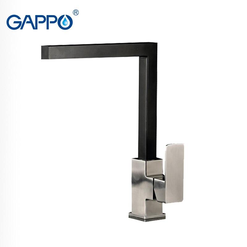 GAPPO Brass Black Kitchen Faucet tap sink faucet water mixer water faucets sink tap kitchen taps