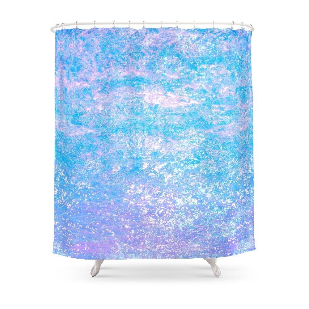 US $16 79 30% OFF|Opalescent Snake Skin Shower Curtain Set Waterproof  Polyester Fabric Bath Curtain For Bathroom With Non slip Floor Mat-in  Shower