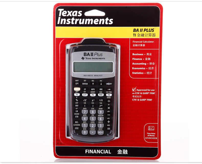 Detail Feedback Questions about TI BA II plus Financial