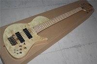 9 В Активные Звукосниматели цельный набор шеи через тело золы бабочка логотип Fodera Emperor 5 strings электрический бас гитара