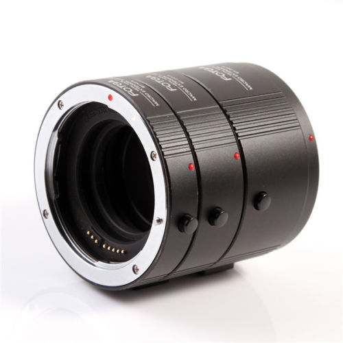 FOTGA Metal Macro Automatic Extension Tube Set DG for CANON EF EFS Lens 13mm 20mm 36mm