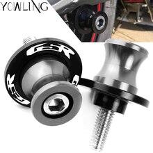 цена на Motorcycle Swingarm Spools Slider Stand Screw For SUZUKI GSR400 GSR600 GSR750 GSR 400 600 750 2006-2018 2009 2010 2011 2012 2013