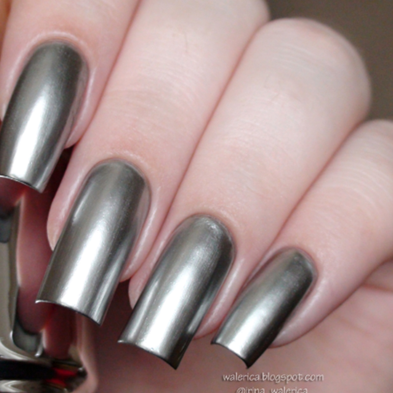 UR SUGAR 2 Bottles Mirror Effect Metallic Nail Polish Chrome Silver Lacquer Base Coat Art Manicure Varnish In From Beauty