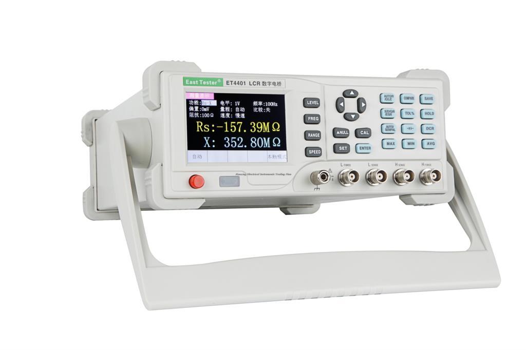Chegada rápida ET4510 LCR Meter com 100 KHz (Continuamente ajustável de freqüência, Hz 1 passo) Precisão: 0.2%