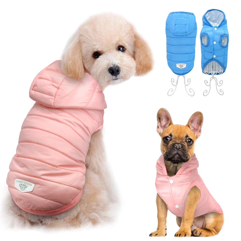 Dog Clothes For Chihuahua French Bulldog Pug Pet Clothes Clothing For Small Dogs Waterproof Jacket Coat Costume Roupa Cachorro