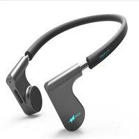Слуховой аппарат Беспроводной наушники Bluetooth гарнитуры костной проводимости Bluetooth наушники синий аудио наушники выдвижной гарнитуры
